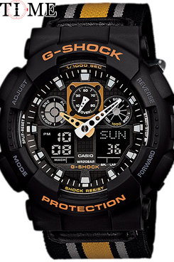 Часы Casio G-Shock GA-100MC-1A4 GA-100MC-1A4-1
