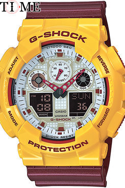 Часы Casio G-Shock GA-100CS-9A