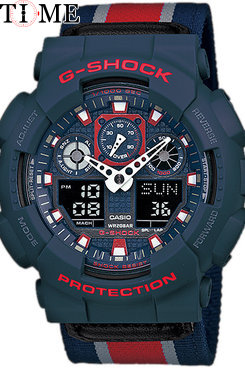 Часы Casio G-Shock GA-100MC-2A