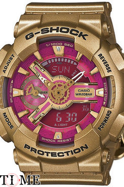 Часы Casio G-Shock GMA-S110GD-4A1
