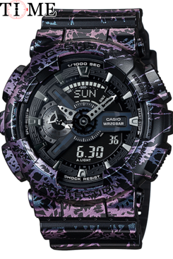 Часы Casio G-Shock GA-110PM-1A