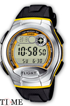 Часы CASIO Collection W-752-9B