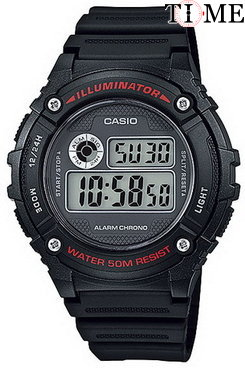 Часы CASIO Collection W-216H-1A